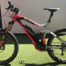 2018 Haibike Electric Mountain Bike X DURO 10.0 fuld suspension