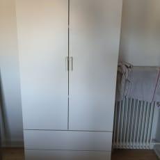 Klædeskab, IKEA Byg selv, b: 80 d: 55 h: 180
