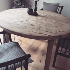 Gammelt kinesisk  egetræsbord (  1 år gammelt )
