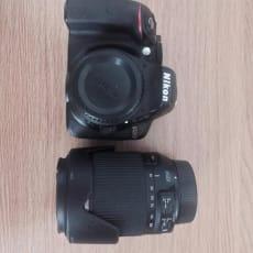 Nikon D5300 inkl. Tamron 18-200 mm objektiv
