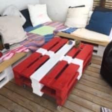 Havemøbler og Bord samt hylder