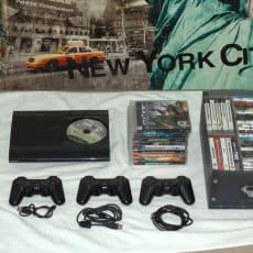 Playstation 3, 500 GB, Inkl. alt nødvendigt udstyr