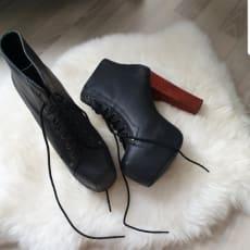 Støvler med hæl