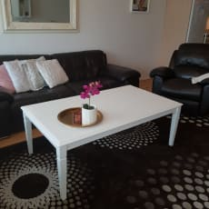 Læder sofagruppe