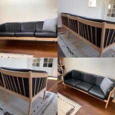 Stouby lædersofa – 3-personers