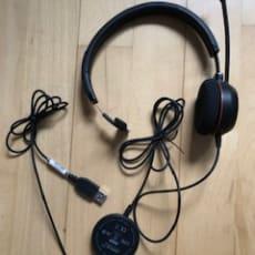 Hovedtelefoner - Jabra Evolve 20 Mono
