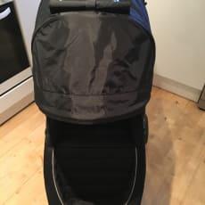 klapvogn Babyjogger black/grey