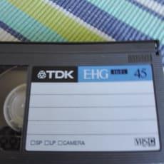 HELT NYT TDK E-HG HIFI VHS C BÅND SÆLGES