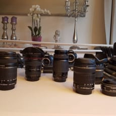 Canon, Perfekt, Kameraer: - Canon EOS 7D med oplader samt...