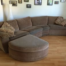 Sofa med 45 grader vinkel