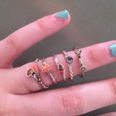 Spinning ringe