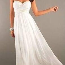 Enkel galla/brudekjole sælges
