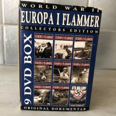 Europa i flammer. 9 DVD box