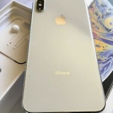 Apple iPhone XS Max - 64GB - Silver (Verizon)