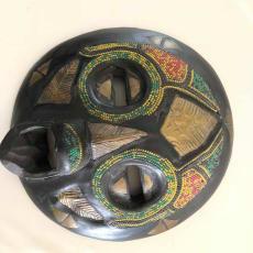 Håndlavet Afrikansk maske sælges