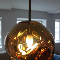 Tom Dixon Melt Pendel Gold lampe