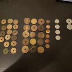 Danmark, mønter, 7.36, Sælger disse mønter
