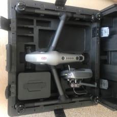 DJI Inspire 2 X4s med 4 batterier