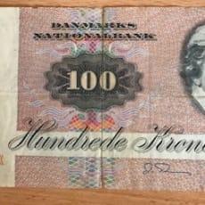 Pengeseddel kr. 100 fra 1984
