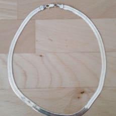 Halskæde i sølv