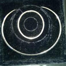 sølvkæde fast og sølv armbånd