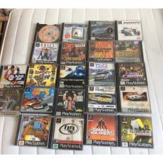 Blandet, PS, anden genre, 22 PlayStation 1 spil.