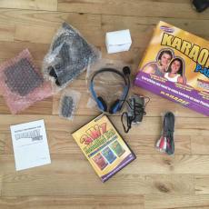 Karaoke Spil til PS2 / PS3 HELT NYT