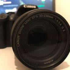 Canon, Canon EOS 700d, 55-250mm x optisk zoom, Perfekt, H...