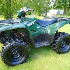 2017 YAMAHA QUAD ATV GRIZZLY 700 4x4