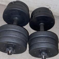 2 x 10 kg håndvægte