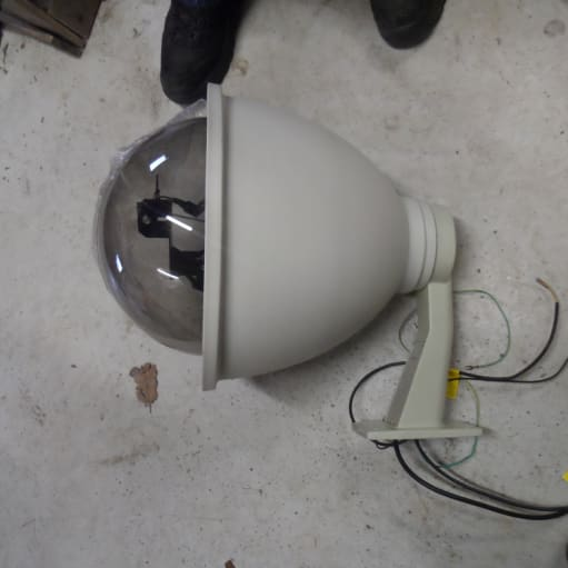 Udvendig Kamera Hus med Pan/Tilt til CCTV