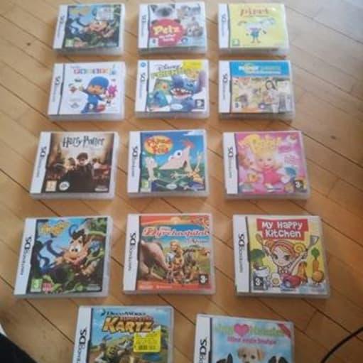 Nintendo Ds spil