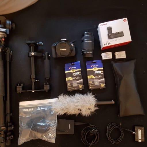 Canon, EOS 700D, spejlrefleks, Perfekt, Hejsa :) Jeg sælg...