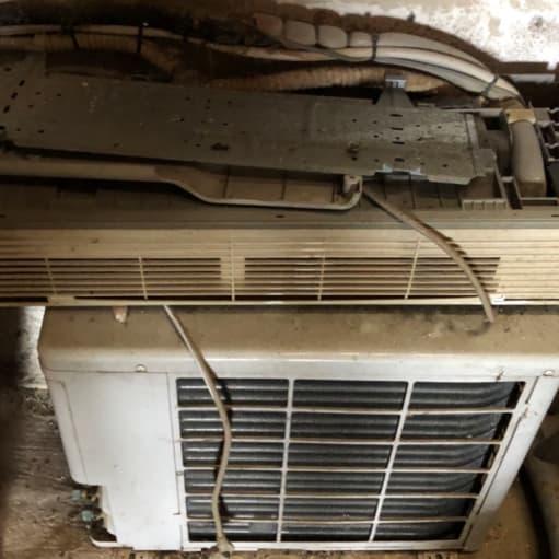 Luft til luft varmepumpe mrk. ZIBRO