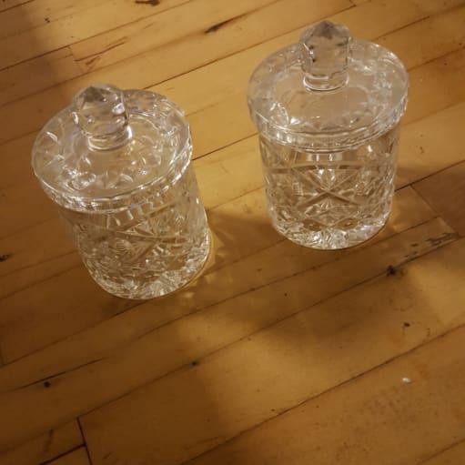Blandet glas og krystal