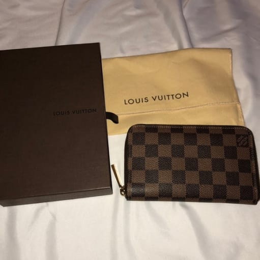 Louis vuitton Damier, zipper wallet/pung