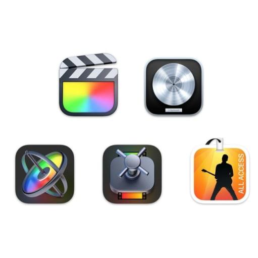 Apple Pro Bundle 2021 (FCP, LP, M, C MS) TILBUD