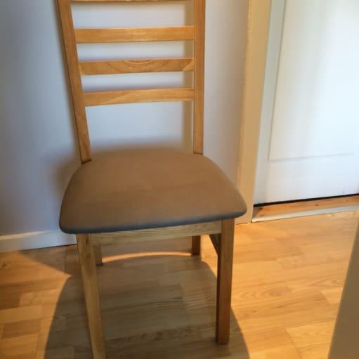 Spisebords stole