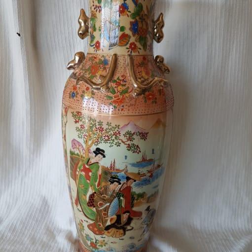 Stor gulv vase