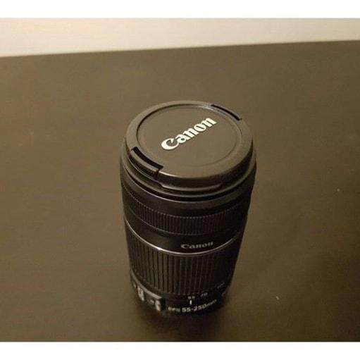 Zoom, Canon, EF-S 55-250mm IS II, Perfekt, Sælger denne s...