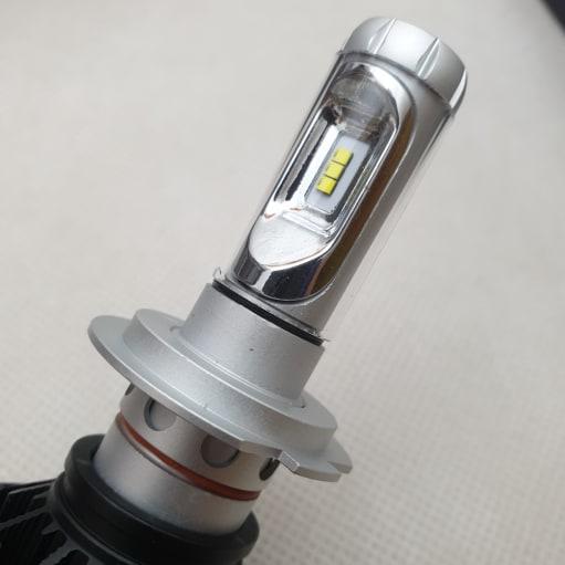 H7 LED X3 ZES 12000LM 3000K 6500K 8000K / 50W