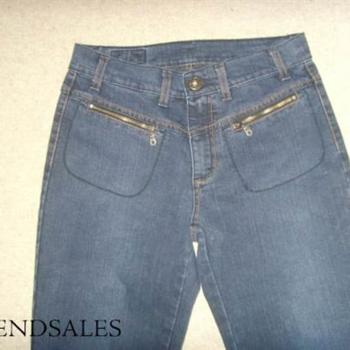 B. By Bessie flot jeans (lagt op) str 28