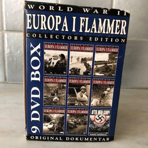 Europa i flammer. 9 DVD box