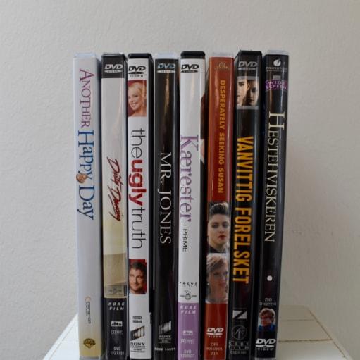 8 stk. gode tøsefilm