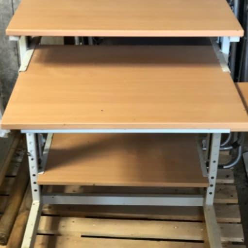 Computerbord, højde regulerbar
