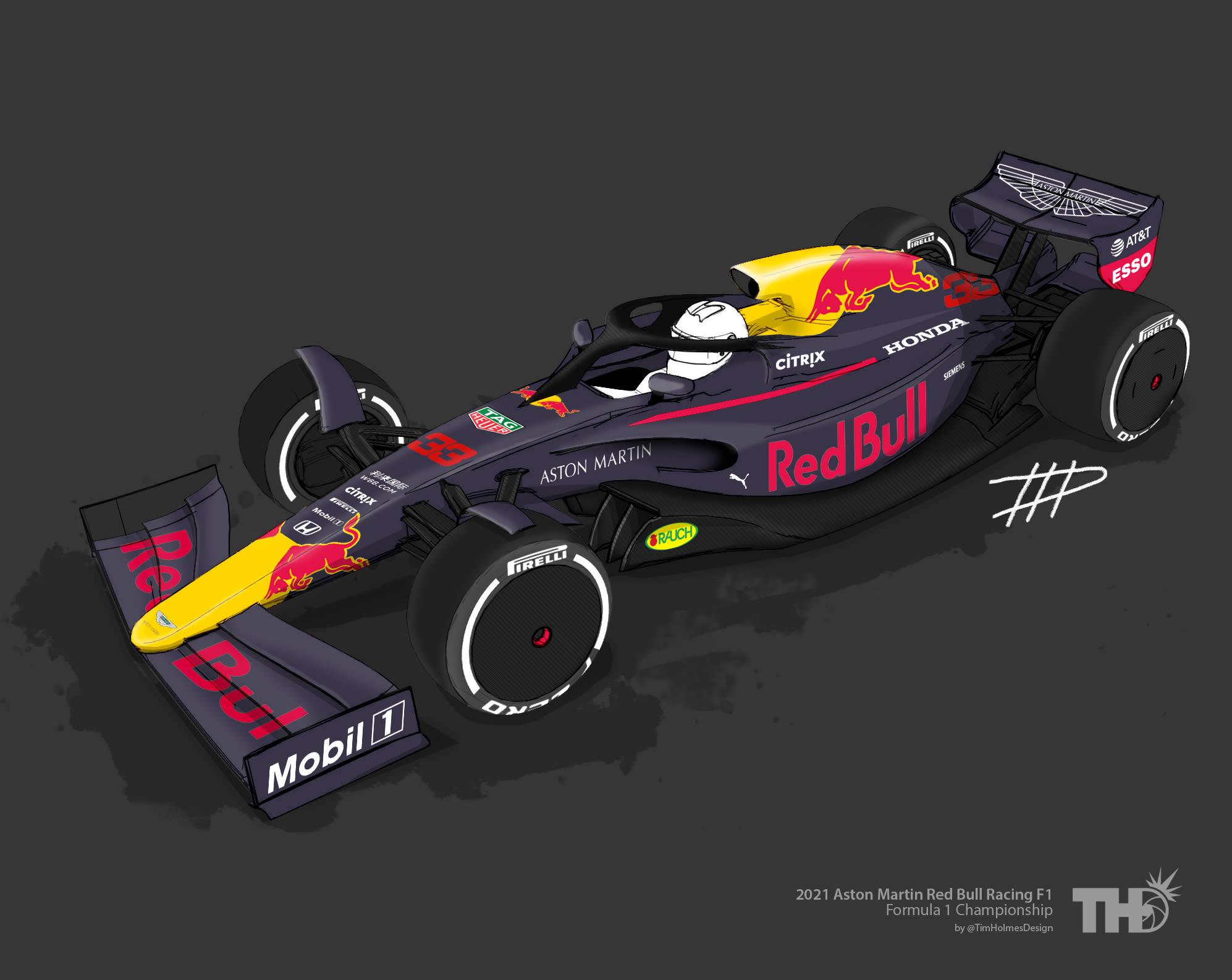 2021 Formula 1 Livery Designs News Tim Holmes Design