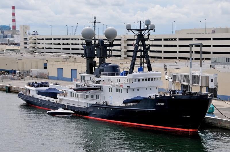 Исследовательская яхта Arctic P