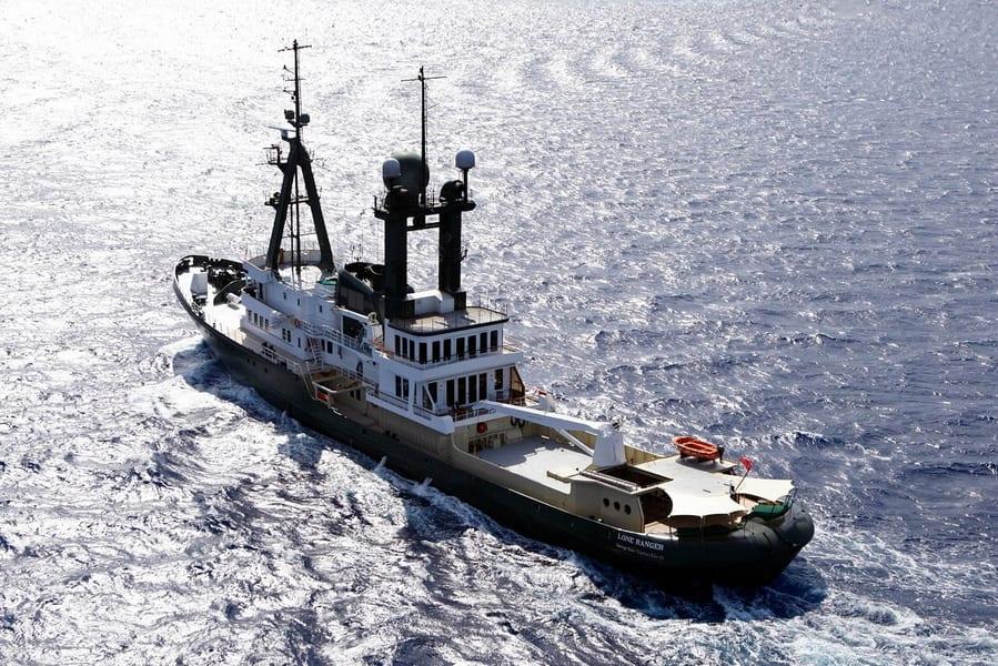 Исследовательская яхта Sea Ranger