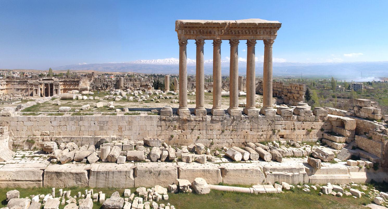 Баальбек. Храм Юпитера.