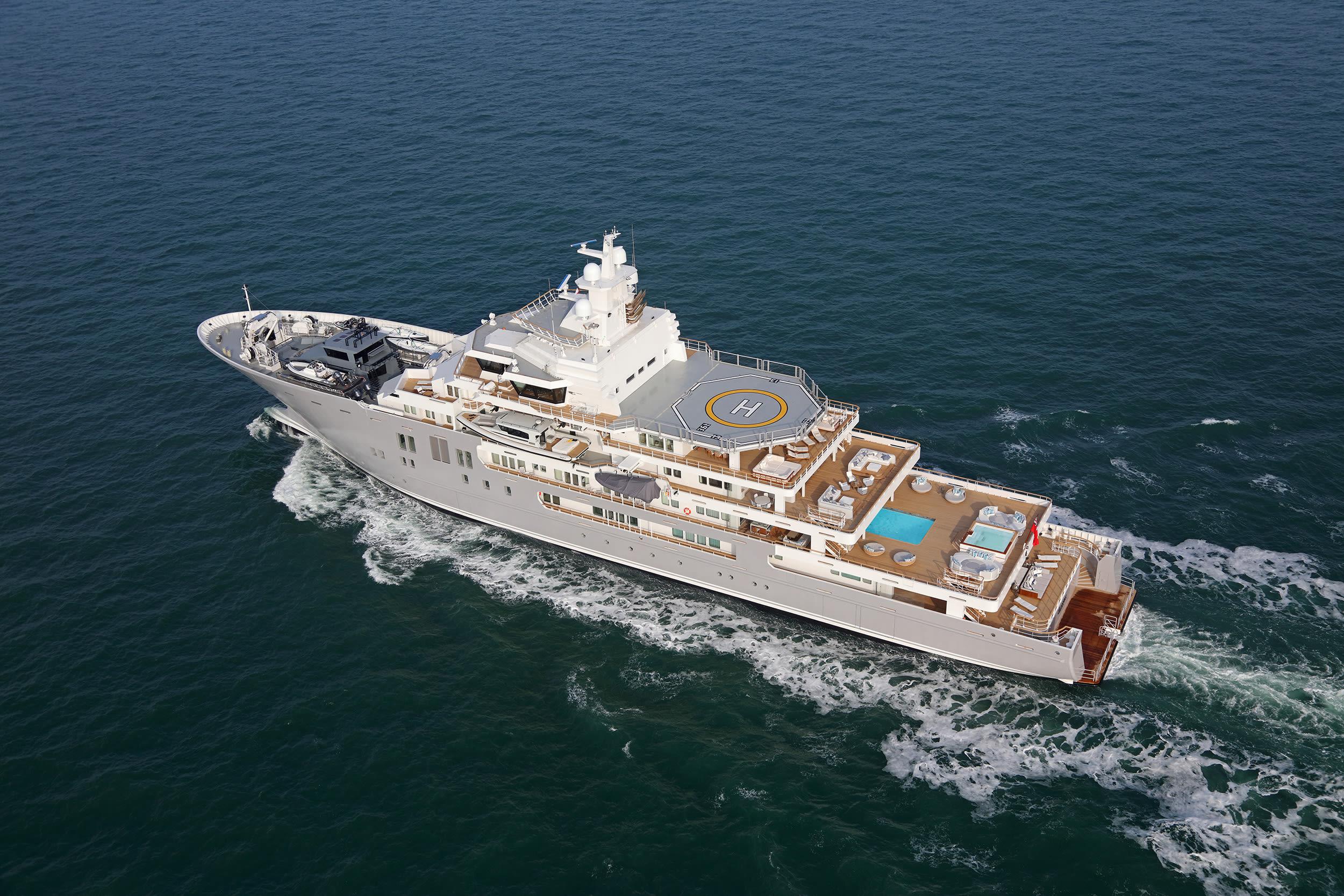 Исследовательская яхта Andromeda (бывш. 107m Ulysses)